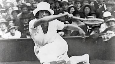 """La Divine"" Suzanne Lenglen lights up the Antwerp 1920 Games"