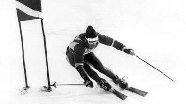 Jean-Claude Killy sweeps the board - Alpine Skiing