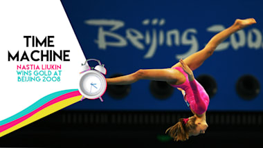 Time Machine: Nastia Liukin wins gold at Beijing 2008