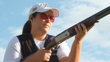 Connor lidera el podio americano en el mundial femenino de skeet