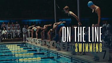 On the line: فيلم وثائقي حول السباحة