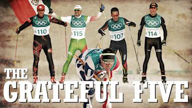Os cinco gratos  - Uma jornada emocionante no Esqui Cross-Country