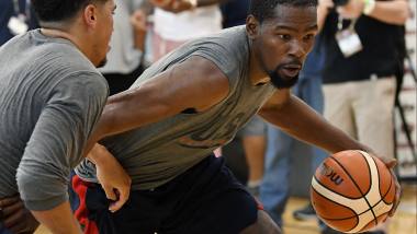 Durant targeting third Olympic gold