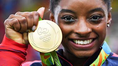 シモーン・バイルス:リオ・オリンピック ハイライト