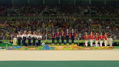 体操競技:女子団体決勝   リオ2016リプレイ
