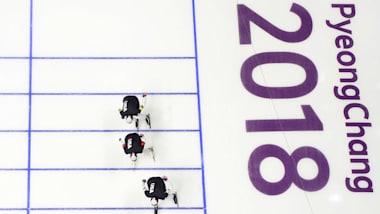 Конькобежный спорт - командная гонка | Пхенчхан-2018 в режиме 360°