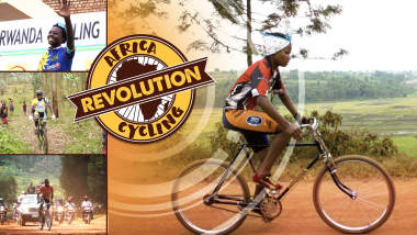 Los conductores de bicitaxis del 'país de las mil colinas'