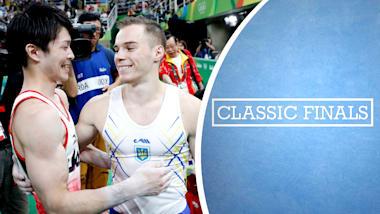 名勝負:リオ2016体操男子個人総合決勝
