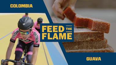 Un cibo energetico è il segreto dei ciclisti colombiani