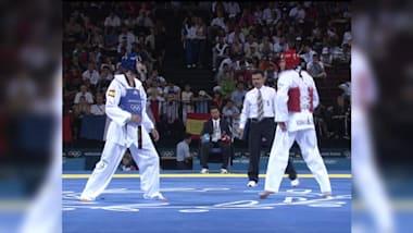 2004年雅典奥运会跆拳道预赛,佐兰·普雷拉德vs洪·加西亚
