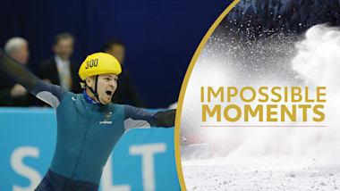 Ouro surpresa de Steven Bradbury é pura determinação| Impossible Moments
