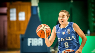 ITA vs ESP   Championnats d'Europe (F) FIBA U-16 - Kaunas