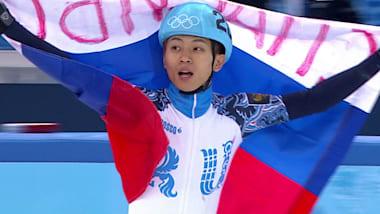 Viktor Ahn leva 500m em casa
