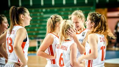 CZE vs TUR   Championnats d'Europe (F) FIBA U-16 - Kaunas