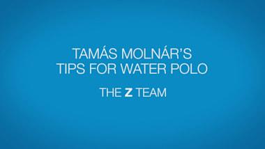 Tamas Molnar's tips for water polo