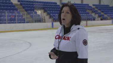 Daniele Sauvageau's tips for ice hockey