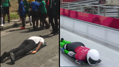 Nigerian youngsters catch Winter Olympic fever