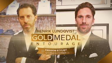 Extra: Ice hockey legend Henrik Lundqvist's fashion game saved by stylist