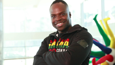 Work hard and you'll make it, from Ghana to the Olympic Dream