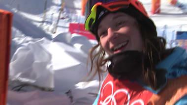 Sarah Hoefflin on her Women's Slopestyle gold