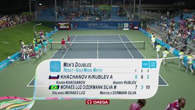 Россия - Бразилия - теннис | ЮОИ-2014 в Нанкине