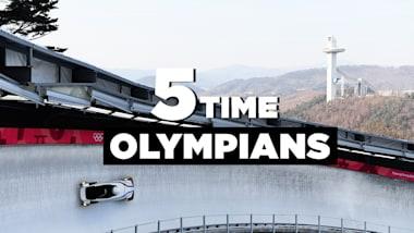 Пятикратные олимпийцы