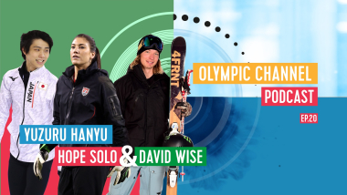 LISTEN: Olympic Channel Podcast [Ep20] with Yuzuru Hanyu, Hope Solo and David Wise