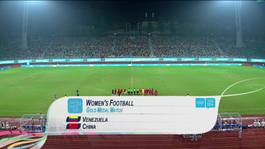 VEN x CHN - Futebol Feminino   YOG Nanjing 2014