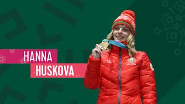 Hanna Huskova: Mes Highlights de PyeongChang