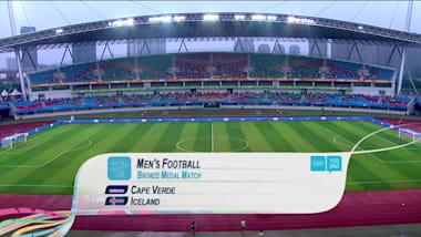 CPV vs ISL - サッカー男子   YOG南京2014