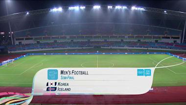 KOR vs ISL - サッカー男子   YOG南京2014