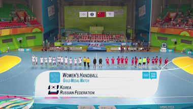 韩国 v 俄罗斯 - 女子手球 | 2014年南京青奥会