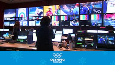 Transmissão de PyeongChang 2018 - Bastidores