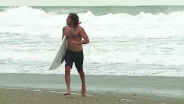 Meet the Iranian making history at the ISA World Surf Games