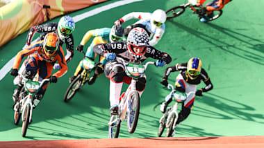 リオリプレイ:自転車BMX男子決勝