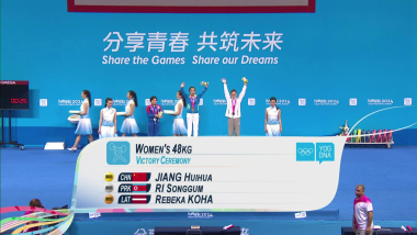 48kg級 - ウエイトリフティング女子 | YOG南京2014