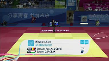 S.A. Dobre (ROU) - S. Gercsak (HUN) - Judo | GOG Nanchino 2014