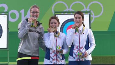Tiro con l'arco: femminile individuale (dai quarti) | Rio 2016 Replays