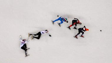 Short Track Donne - Pattinaggio di Velocità | PyeongChang 2018 a 360°