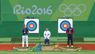 Tiro con l'arco: maschile individuale (dai quarti) | Rio 2016 Replays