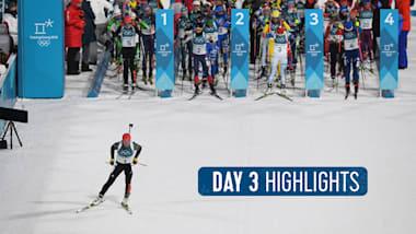 Jour 3 Highlights | PyeongChang 2018