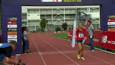 Bielorrussa Anastasiya Prokopenko termina longa espera pelo ouro individual