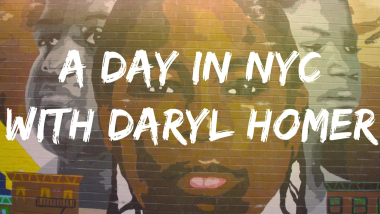 A day in life of Daryl Homer