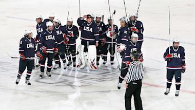 Team Talk with the USA Men's Youth Hockey Team