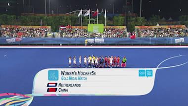 CHN v NED - Women's Hockey | 2014 YOG Nanjing