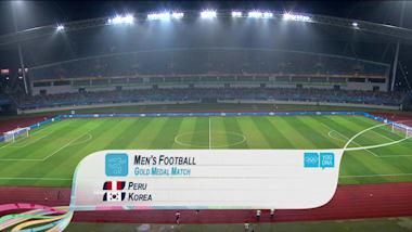 PER v KOR - 남자 축구 | 2014 YOG 난징