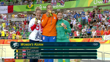 Women's Keirin   Rio 2016 Replays