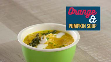 Orange & Pumpkin soup