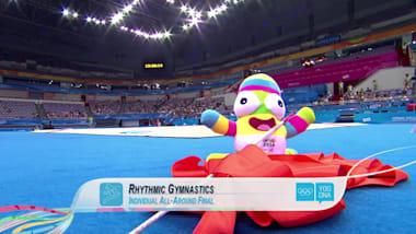 Individual All-Around - Rhythmic Gymnastics | 2014 YOG Nanjing