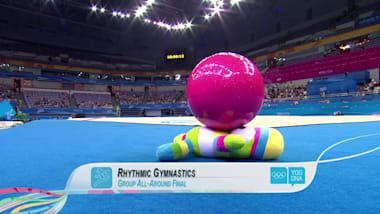 Group All-Around - Rhythmic Gymnastics | 2014 YOG Nanjing